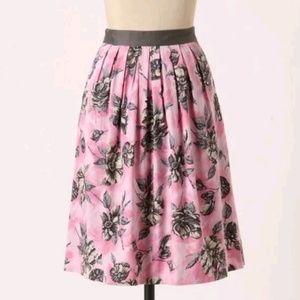 Anthropologie Odille Spends Celebration Skirt